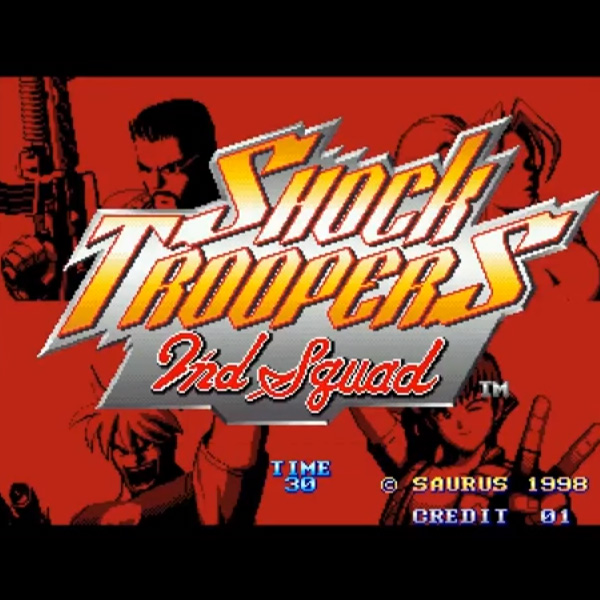 SHOCK TROOPERS 2ND SQUAD <ショックトルーパーズ セカンドスカッド 海外版>