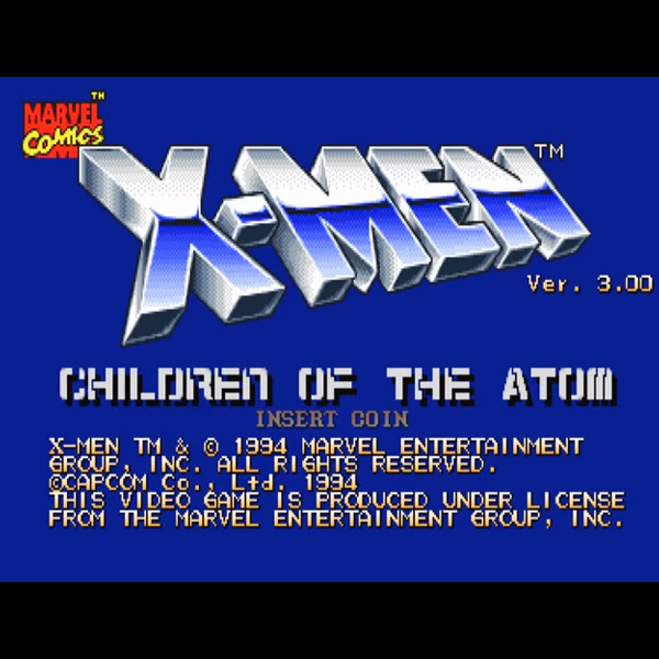 X-Men -Children of the Atom